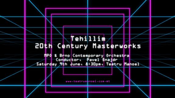 Tehillim - 20th Century Masterworks -01